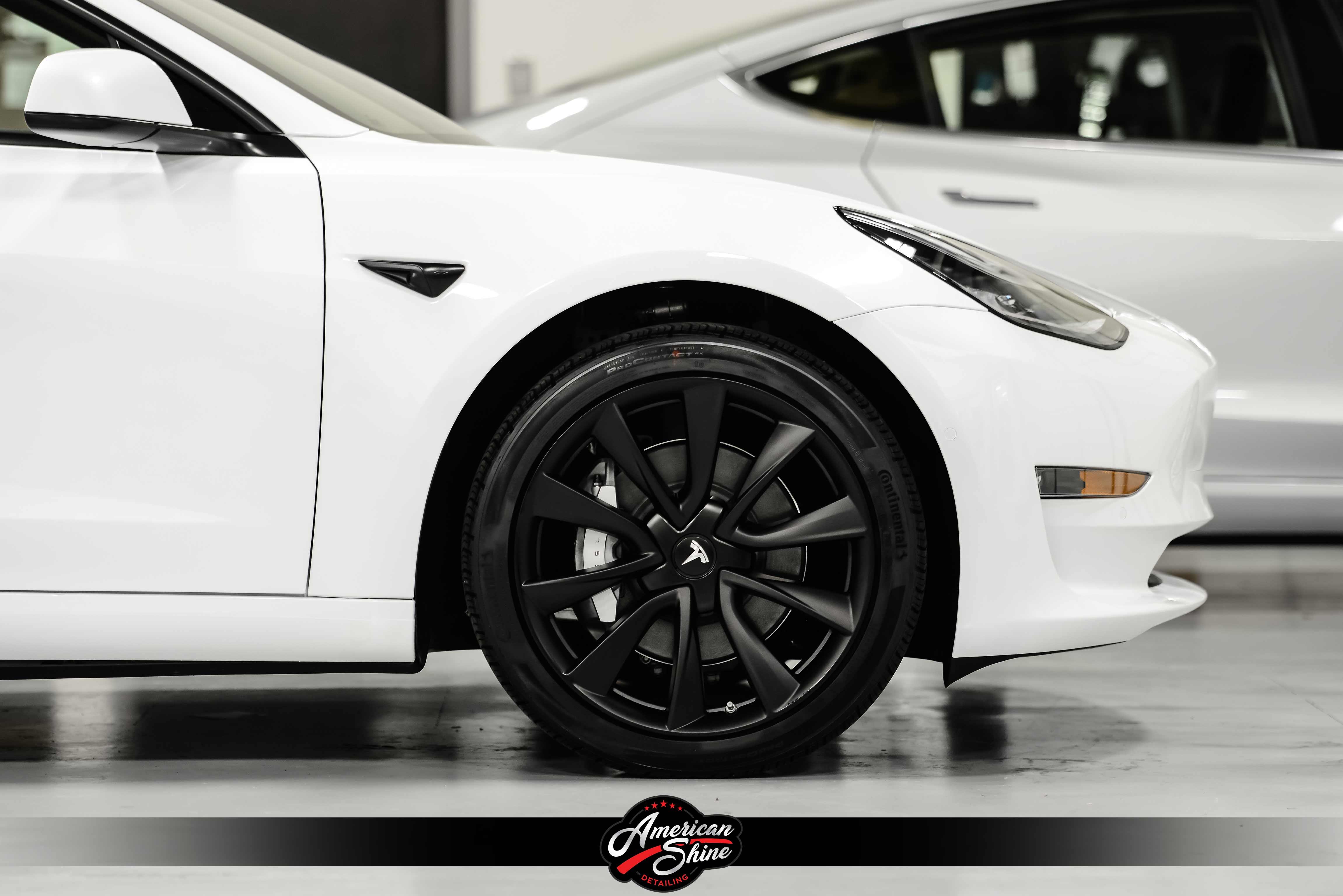 Tesla Model 3 Black Out - American Shine Detailing