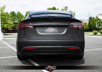 Tesla Model X Black Out - American Shine Detailing