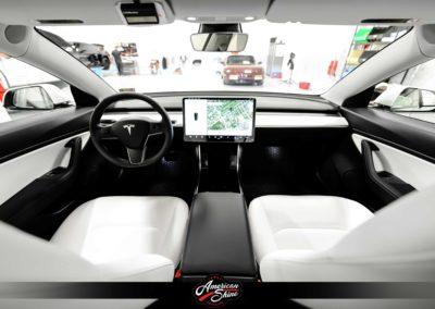 Tesla Interior Detailing - American Shine Detailing