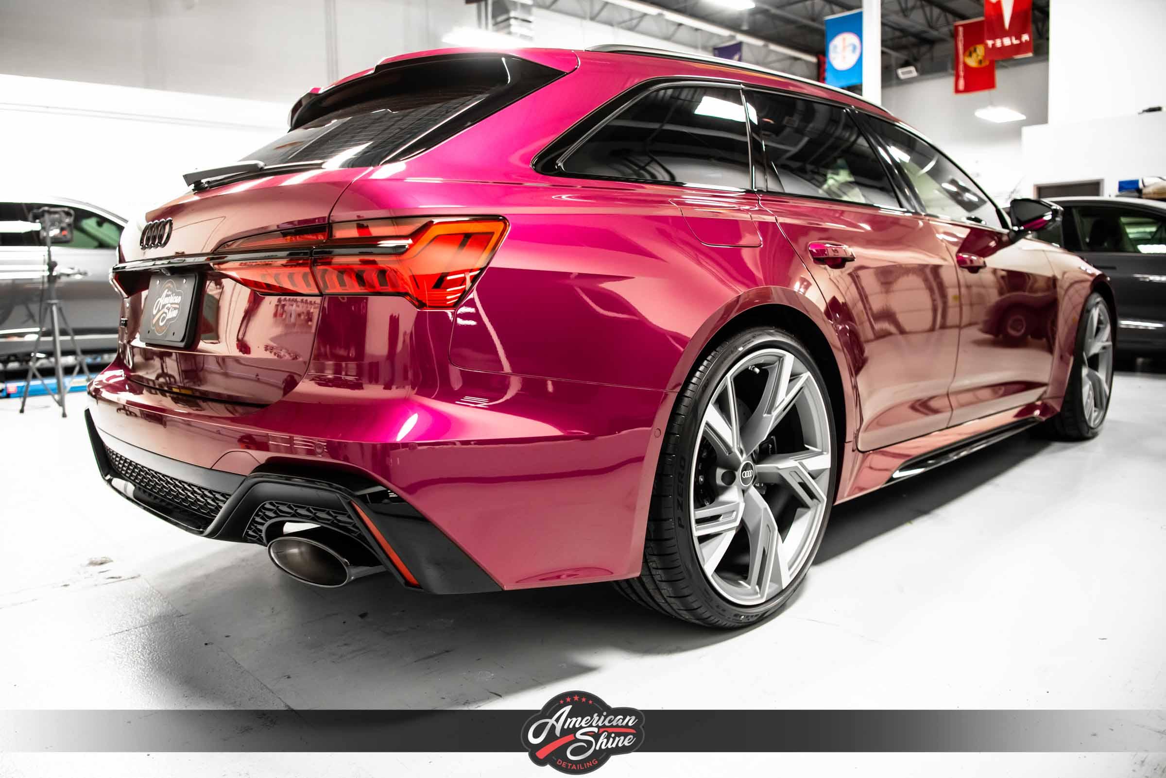 2021 Audi RS6 Avant   Full Car PPF   CQuartz Finest ...